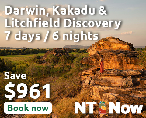 A Darwin, Kakadu & Litchfield Discovery for 2 people