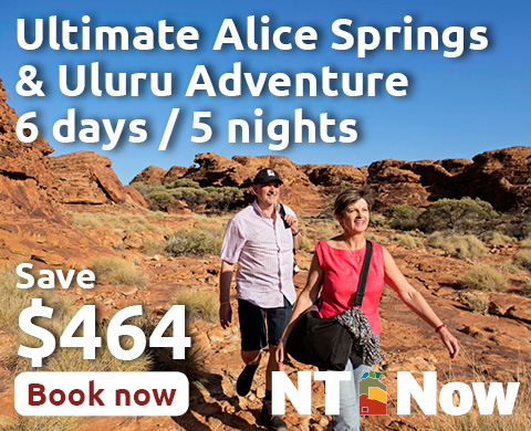 Ultimate Alice Springs and overnight Uluru with West MacDonnell Ranges for 2 people