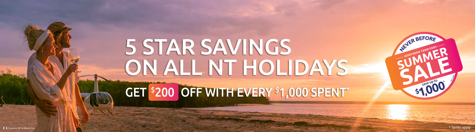 Cracking Good Deals to the NT - It's about time you did the NT.