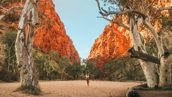 Alice Springs with West MacDonnell Ranges - NT Now