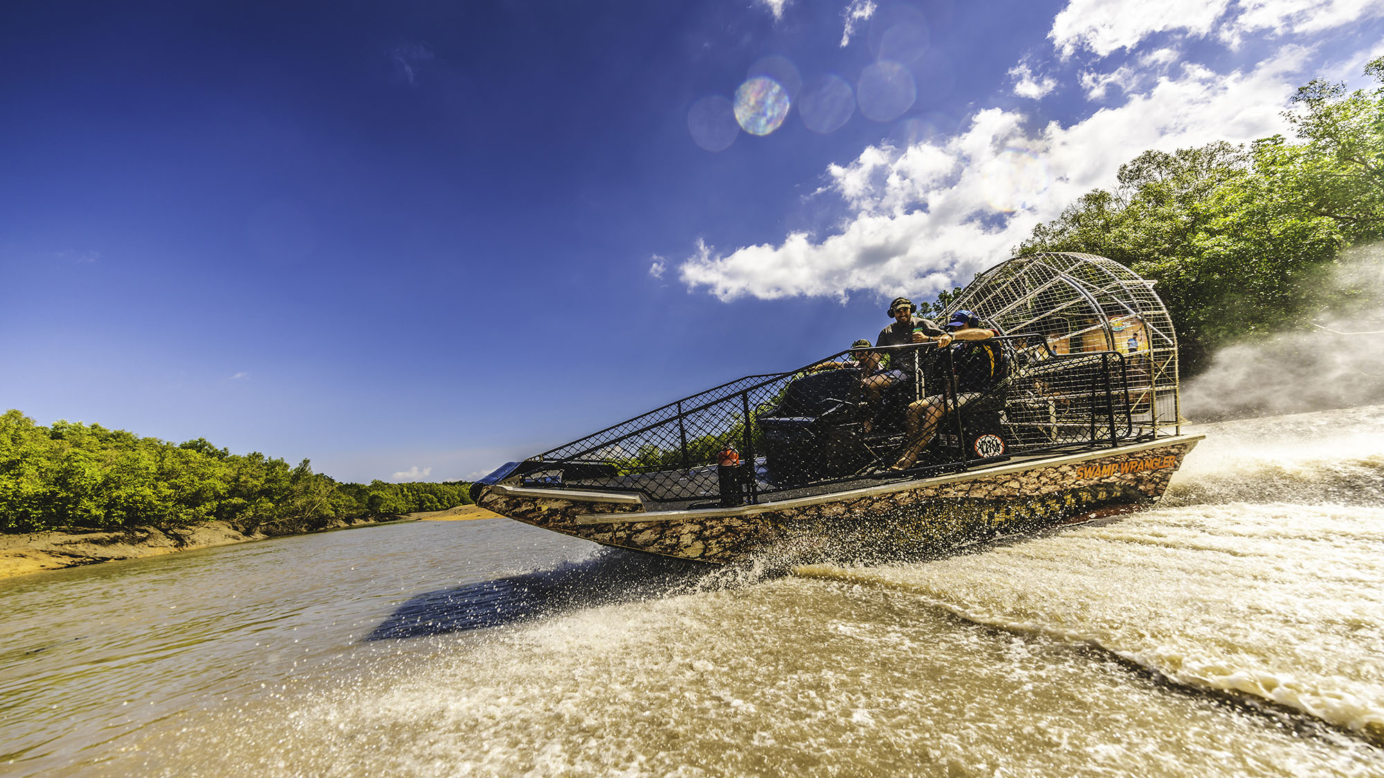 Darwin Adventure featuring Darwin Airboat Tours for 2 people