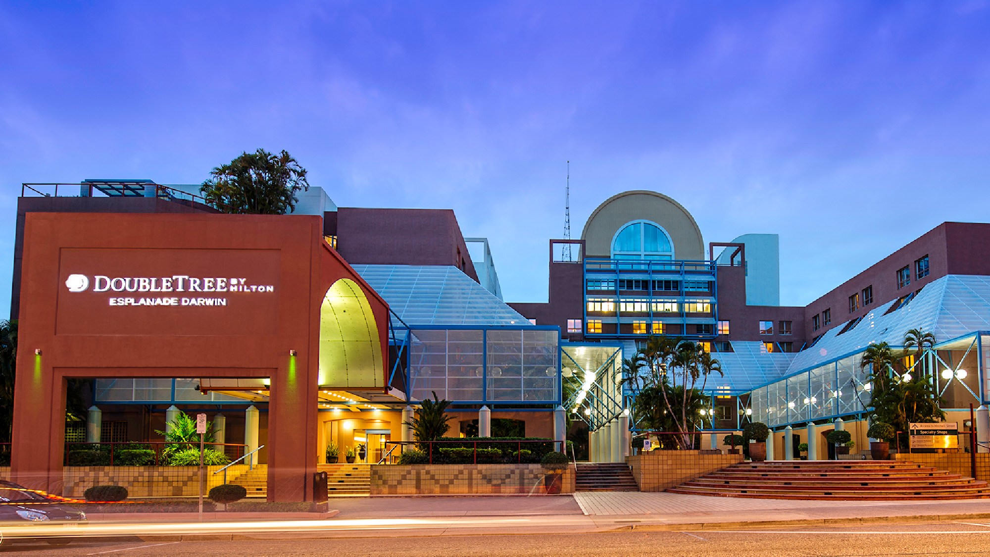 Darwin Short Stay with DoubleTree by Hilton Hotel Esplanade - 3,5,7 nights for 2 people